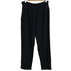 HOLT RENFREW Vintage Navy Blue Wool Pants, size L